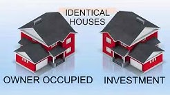 Investment Rental Versus Owner Occupied house-Tax Treatment