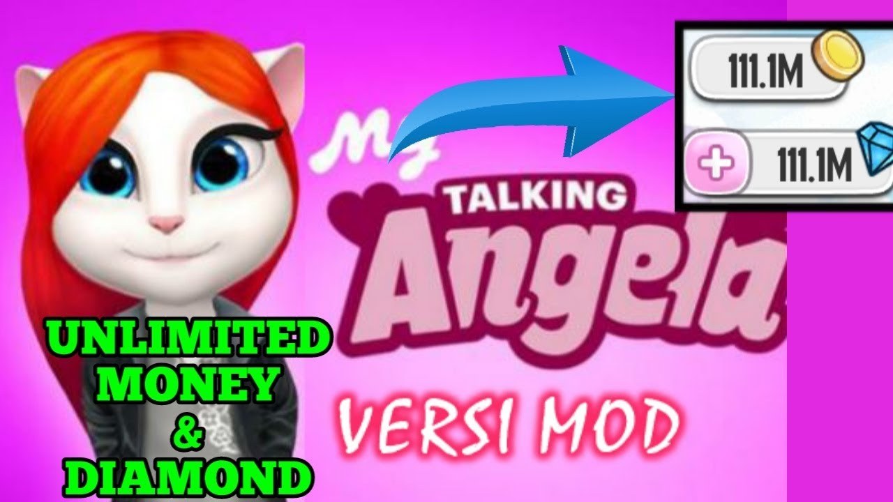 my talking angela apk unlimited coins and diamonds