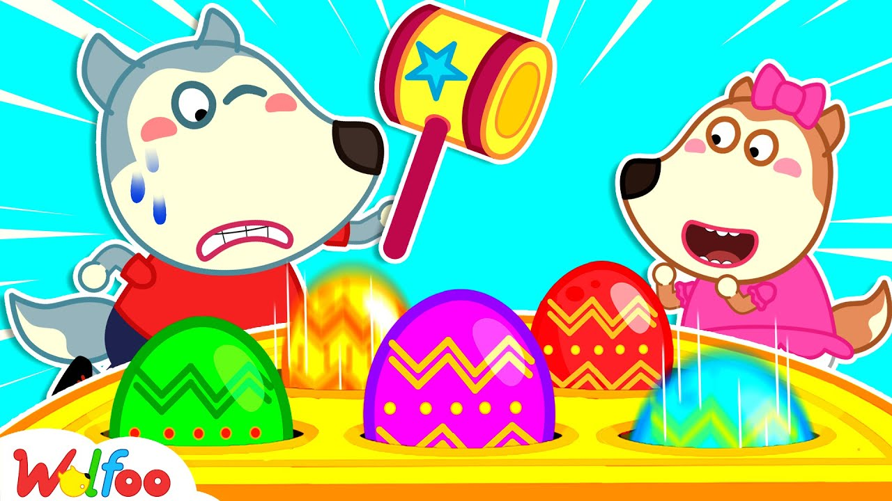 Download Wolfoo Learns Colors with Colorful Surprise Eggs - Funny Stories About Toys for Kids| Wolfoo Channel