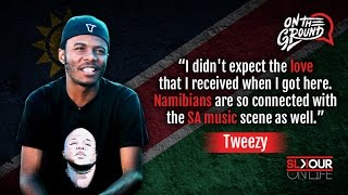 Tweezy on namibians being plugged into ...