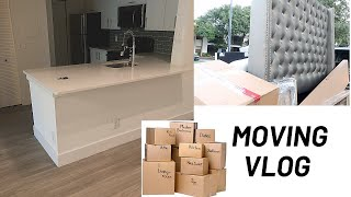 MOVING VLOG | Moving to My New Apartment With My Boyfriend🏡💕