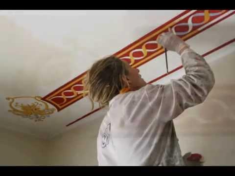 Decorazione soffitto youtube - Decorazioni soffitto ...