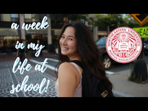 A WEEK IN MY LIFE AT COLLEGE! (NORTHEASTERN UNIVERSITY)