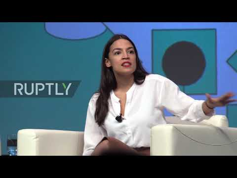 USA: 'Fear is not a plan, but courage is' - Ocasio-Cortez at SXSW Alexandria Ocasio-Cortez, the youngest women ever elected to Congress and one of the main progressive trailblazers marking the future path of the Democratic ..., From YouTubeVideos