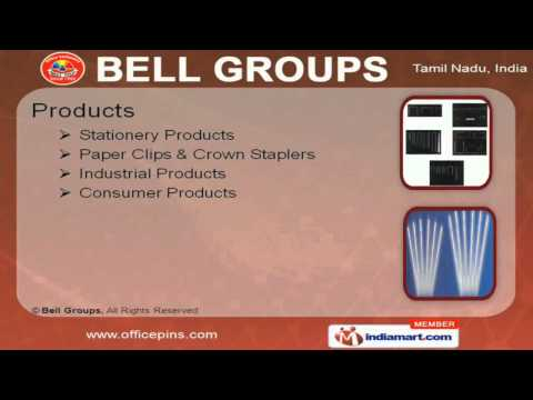 Stationery Products by Bell Groups, Tirunelveli