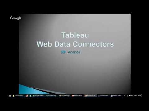 Alma - Tableau Web Connector