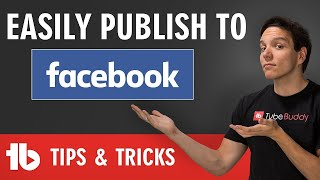 Publish to Facebook WHILE Posting on YouTube