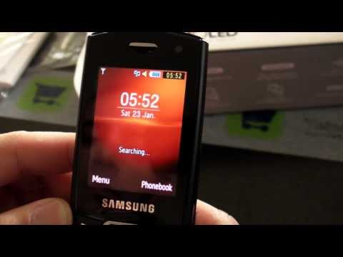 Samsung S5550 Shark 2 Hands on HD - www.TelefonulTau.eu -