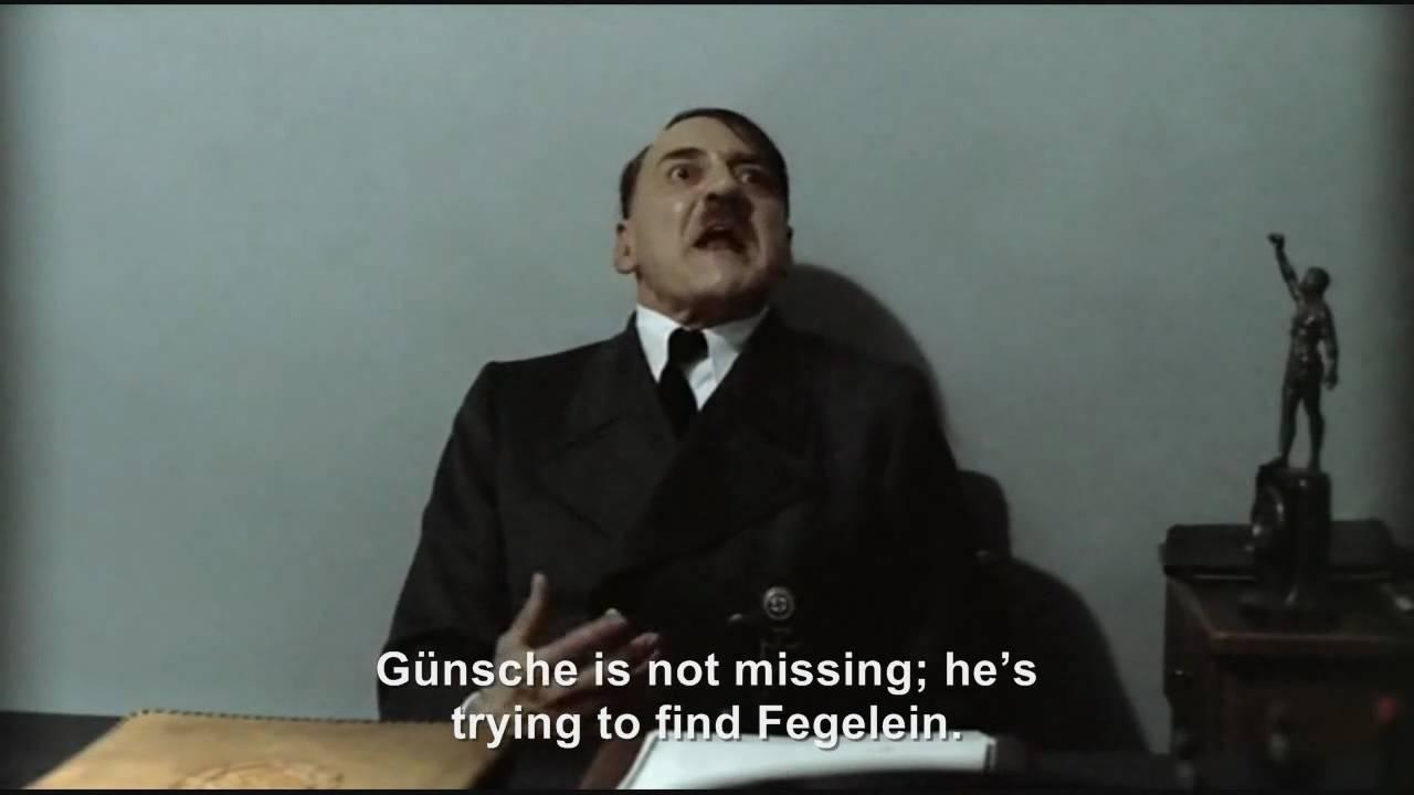 Hitler is informed Günsche is missing