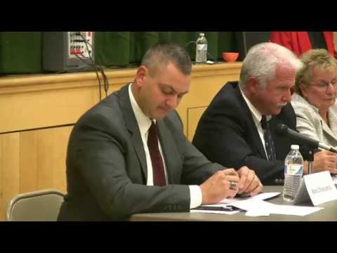 The October 16, 2014 Madison, NJ League of Women Voters Candidates Forum