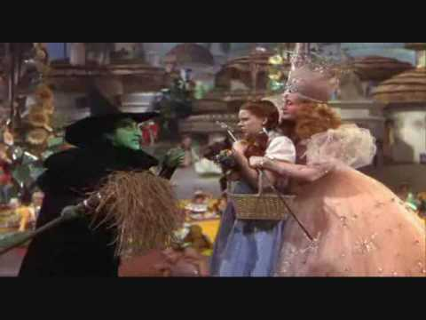 "Maragaret Hamilton in ""The Wizard of Oz""-1939-(1/2)"