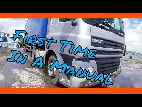 Driving A Manual Articulated Lorry For The First Time - Class1 HGV #11