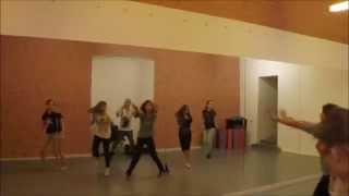 """Фрагмент урока по Street Dance в Академии искусств """"МУЗА"""""""