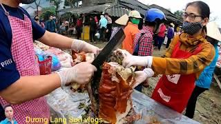 trở Lại Chợ phiên Ngỡ Ngàng kнi thấy hàng 100 c๐n Hęo qขay bán bàn tąy vàng Hęo qขay lạng Sơn