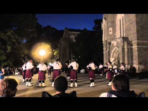 "Irish Thunder Pipes and Drums, Aug. 13, 2014. ""Steam Train/Dropkick Set"""