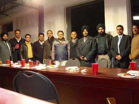 R.E.C-Bhalki get-together in Toronto (Dec.-2009).