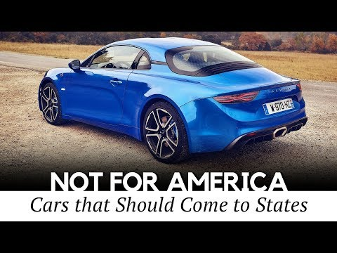 Top 10 Foreign Cars You Can't Buy in America (Interior and Exterior Review)