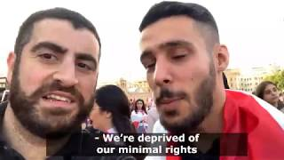 AfeefNess in the Middle East: The Lebanese on their own Revolution