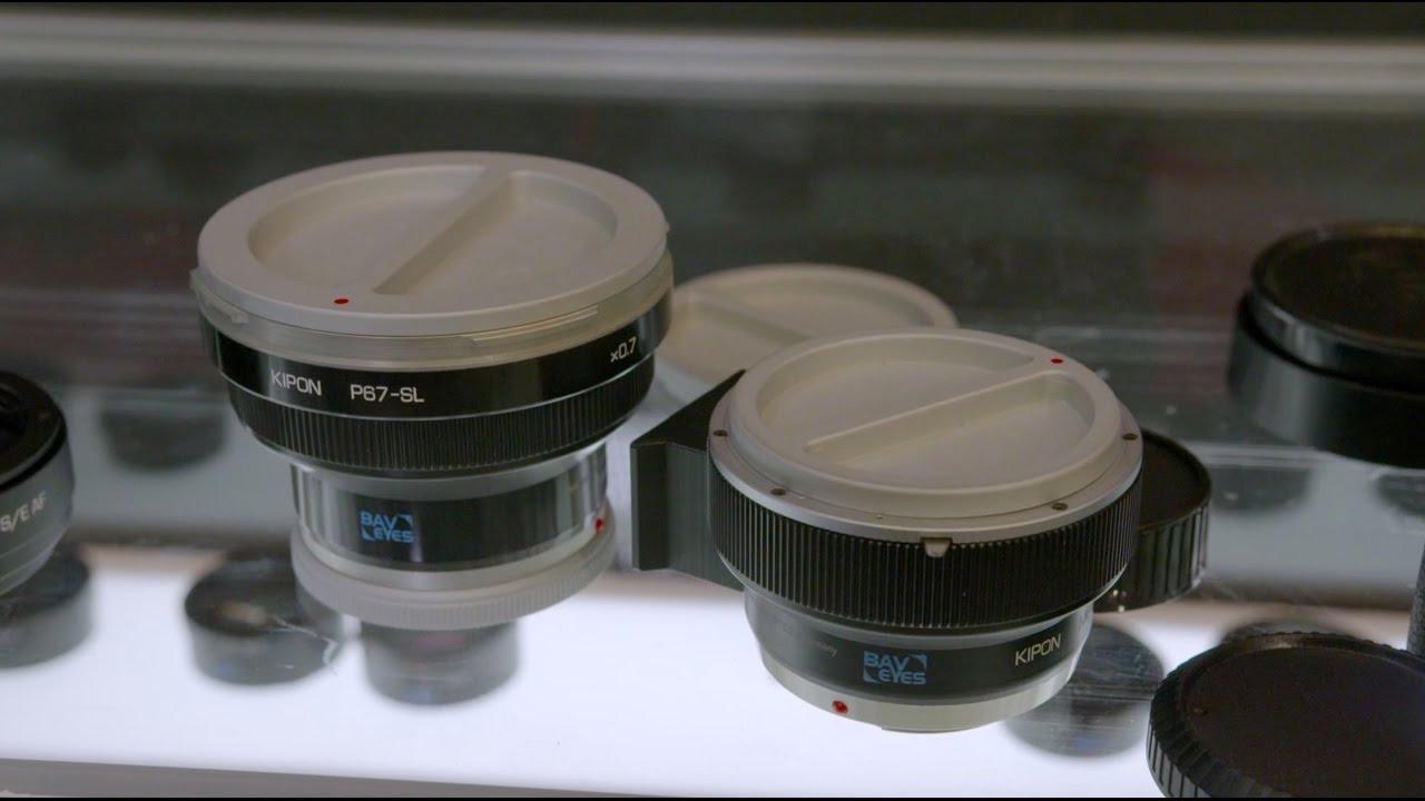 Photogearnews At Photokina 2016 Kipon Shows Bav Eyes A Medium Mamiya 645 Mount Lens To Fuji Gfx Format Camera Adapter Speed Booster