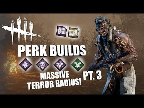 MASSIVE TERROR RADIUS! PT. 3 | Dead By Daylight THE DOCTOR PERK BUILDS