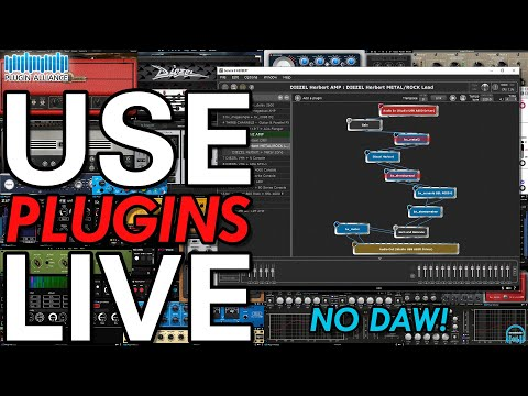Plugin Alliance GIG PERFORMER 3 - USE YOUR PLUGINS LIVE w/o A DAW! (near ZERO latency)