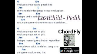 Chord Gitar Last Child - Pedih Kunci dasar by Chordfly
