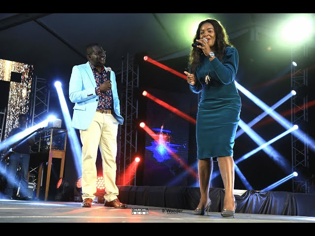 Florence Andeyi Performs Live in Syokimau