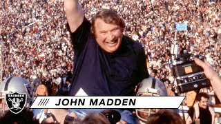 'NFL 100 Greatest' Characters: John Madden | Raiders