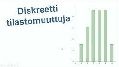 Diskreetti tilastomuuttuja
