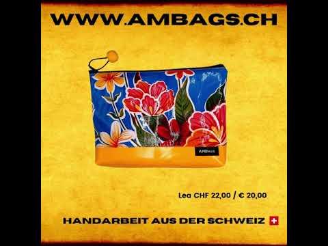 www.ambags.ch   bunte, handgemachte Taschen & Beutel aus der Schweiz. Jede Tasche ist ein Unikat.
