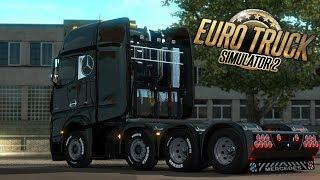 FACCIAMO TUNING al MERCEDES-BENZ! EURO TRUCK SIMULATOR 2