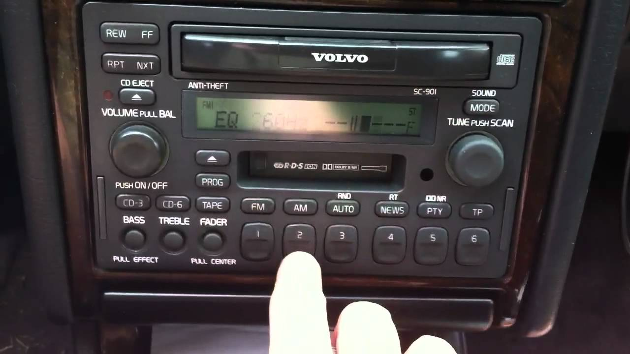 for volvo s80 fuse box    volvo    sc 901 radio youtube     volvo    sc 901 radio youtube