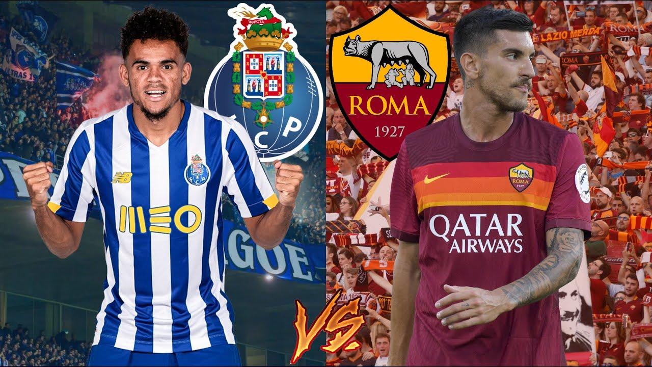 FC PORTO 1-1 AS ROMA   EM DIRETO!