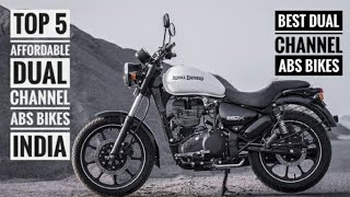 TOP 5 AFFORDABLE DUAL CHANNEL ABS BIKES IN INDIA 2019