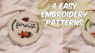 List of Various Types of Pattern Making in Embroidery