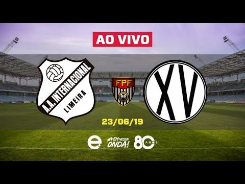 Inter de Limeira X XV de Piracicaba AO VIVO | Copa Paulista 2019 | 23-06-2019