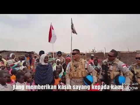 MENGEJUTKAN TENTARA INDONESIA MEMBANTU WARGA PALESTINA