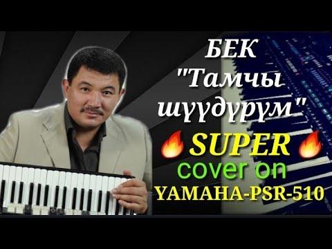 "Бек ~ ""Тамчы шүүдүрүм"" cover on YAMAHA PSR-510"