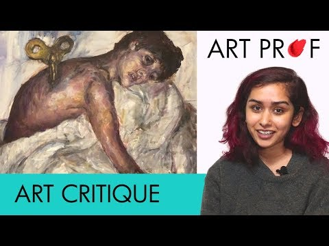 Art Critique: Acrylic Painting / ART PROF