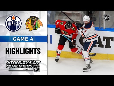NHL Highlights | Oilers @ Blackhawks GM4 - Aug. 7, 2020