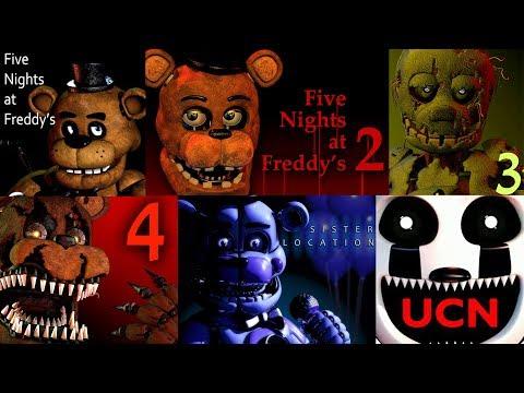 FNAF 1, 2, 3, 4, 5, 6, UCN Jumpscare Simulator | Five Nights at Freddy's thumbnail