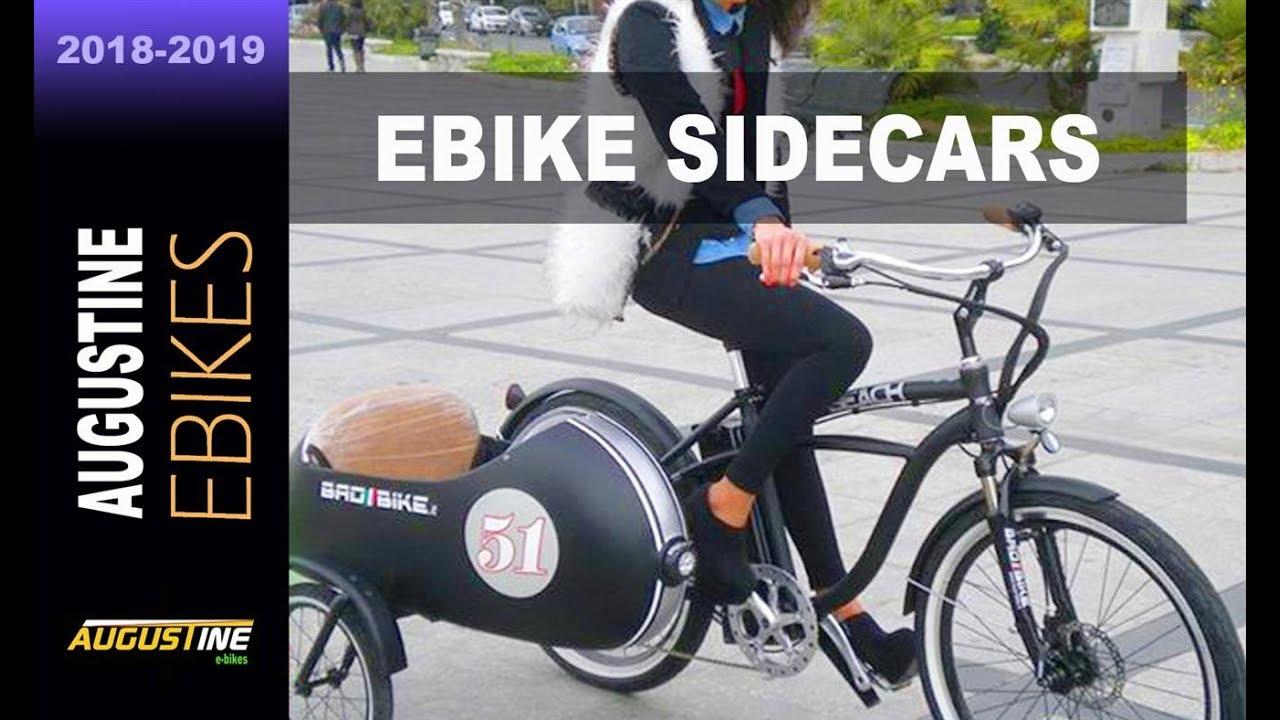 E-Bike  Sidecars are making a comeback, on bikes