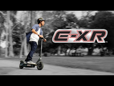 E Xr Electric Scooter Ride Video With Features Youtube