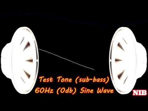 NIB - Test Tone(sub-bass) - 60Hz (0db) Sine Wave