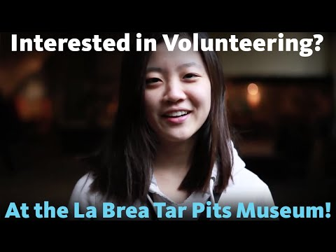 Meet the Volunteers at The La Brea Tar Pits and Museum