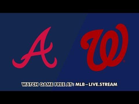 Washington Nationals vs Atlanta Braves Live Stream