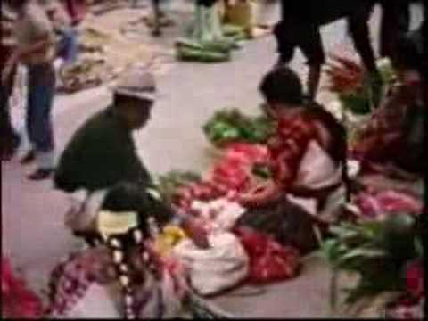 Chichicastenango Market Day - 1964
