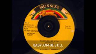 BABYLON BE STILL- A CAMERON- RED ROSE