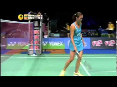 QF - WS - Saina Nehwal vs Tine Baun - 2012 Yonex Denmark Open
