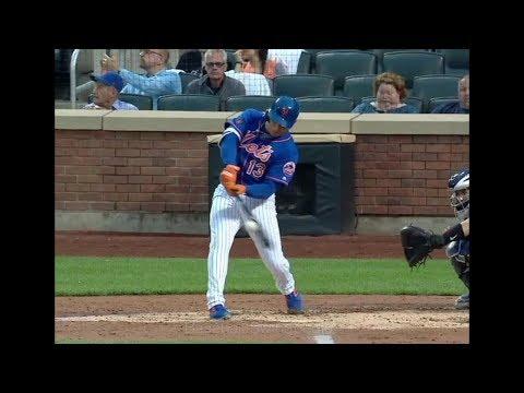 Asdrubal Cabrera Home Run Swing Slow Motion 2018-1(#6)